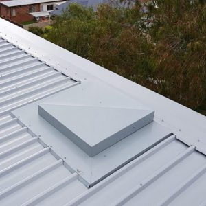 All Metal Roof Hatch - Natural Lighting