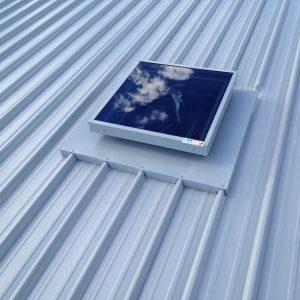 Double Glazed Glass Skylight for Metaldeck Roof