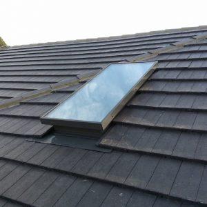 Single Glazed Glass Skylight for Tile Roof