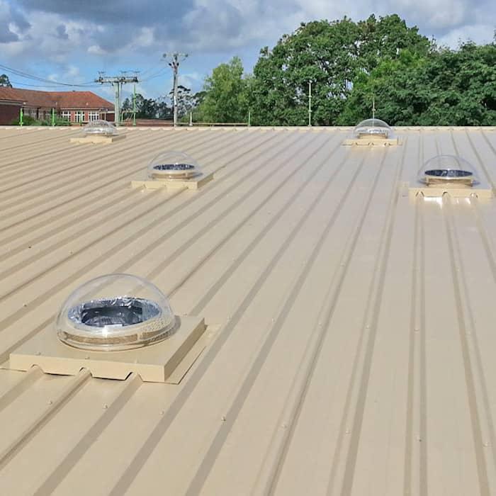 Tubelight Complete for Metaldeck Roof